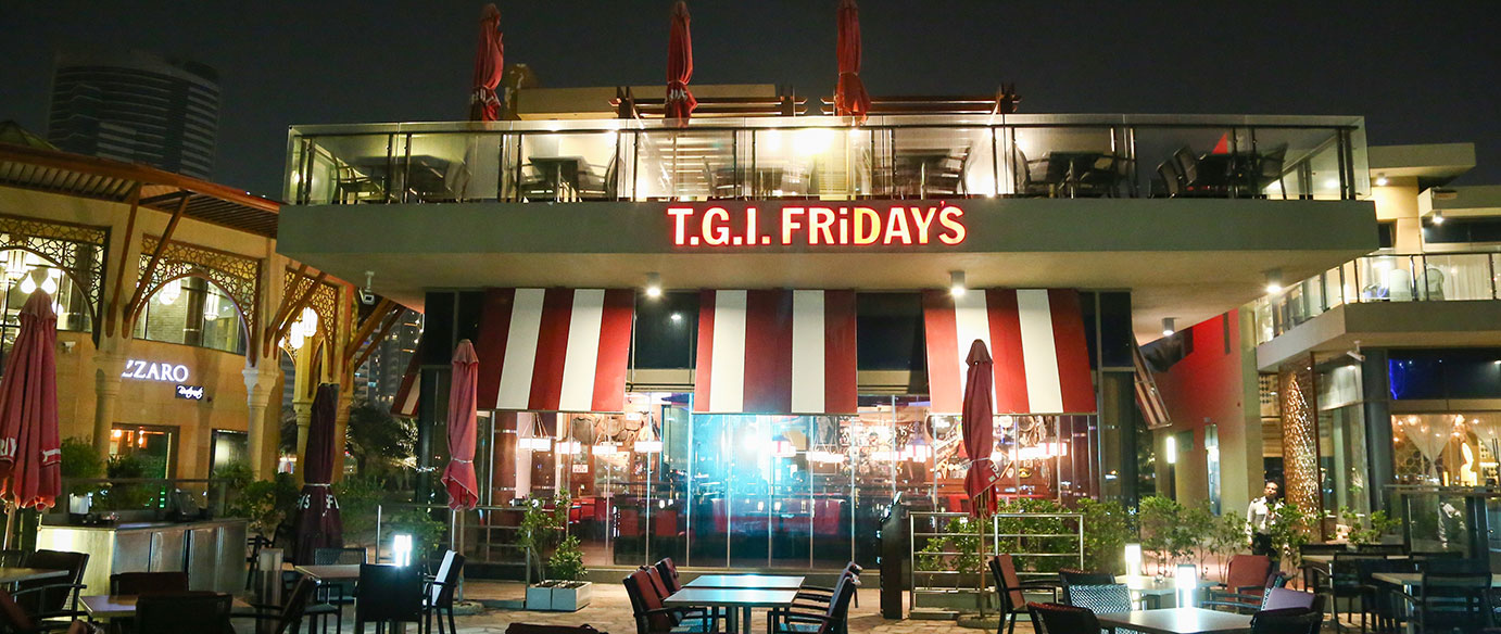 <p>Famous the world over for serving up fun and food for the whole family, enjoy American classics and a welcoming atmosphere at a place where every day feels like a Friday.</p>